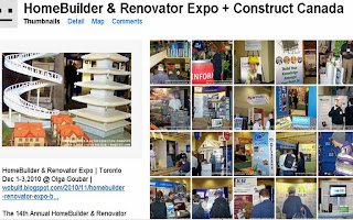 HomeBuilder & Renovator Expo + Construct Canada photos from flickr.com, by Olga Goubar, wobuilt