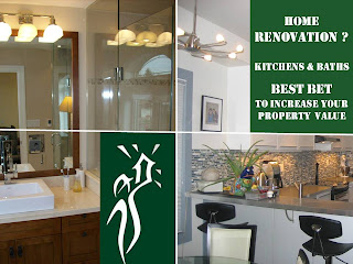 kitchen and bathroom renovation - increase your home property value, by wo-built, general contractor, Toronto, Ontario, Canada