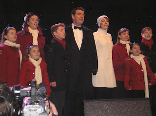 the family Von Trap from the west end musical The sound of music