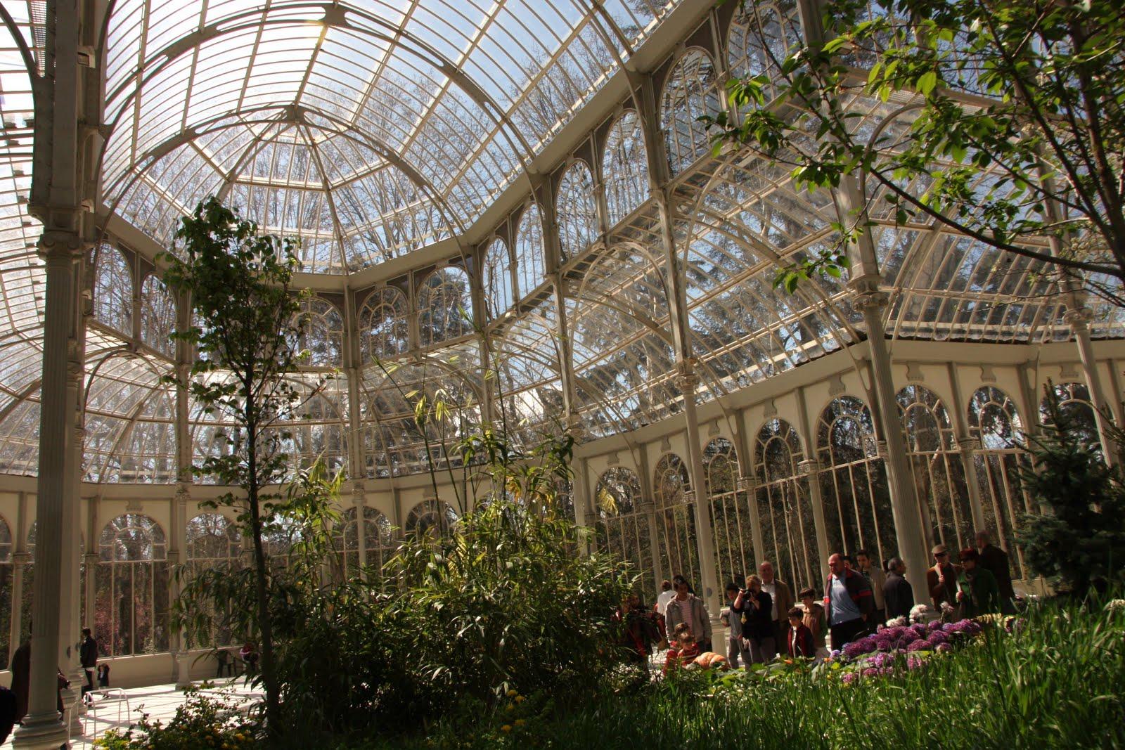 Madrid palacio de cristal otra vez invernadero - Invernadero de cristal ...