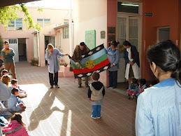 Charlas en escuelas y jardínes de infantes por la diversidad cultural