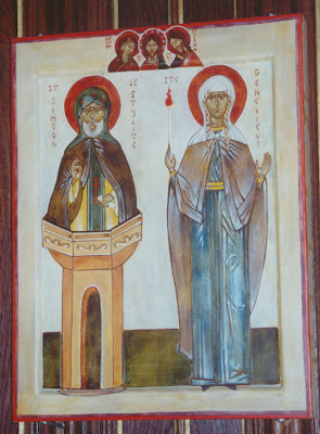 Image result for St. Genevieve Icon