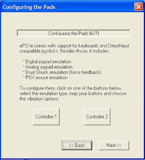 seting emulator ps