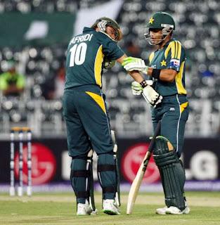 Umar Akmal and Afridi