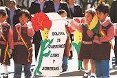 BOLIVIA TE QUEREMOS LIBRE Y SOBERANA.