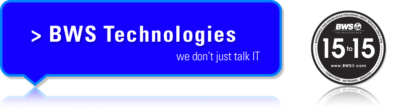 BWS Technologies - We don't just talk IT