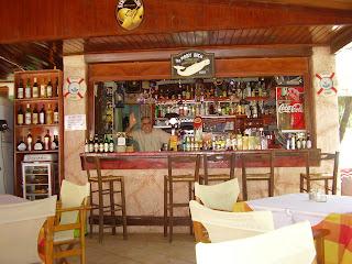 Mobi Dick bar in Tsilivi beach