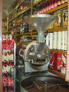 Coffee shop in Zakynthos town