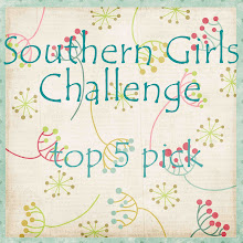 I'm a Southern Girl Winner Thank you ladies for choosing my card!