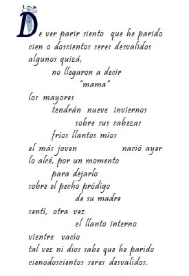 de mis poemas...