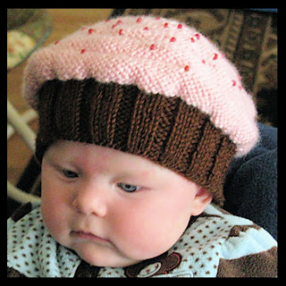 The pattern for this adorable hat can be purchased HERE .