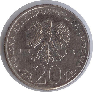 Numismatisme Polish coin moneta rzeczpospolita polska 20 zlotyh      Mnzen  polnischen Zlotys numismatisme zlotys en argent polonais zlotys de plata polacos numismtica