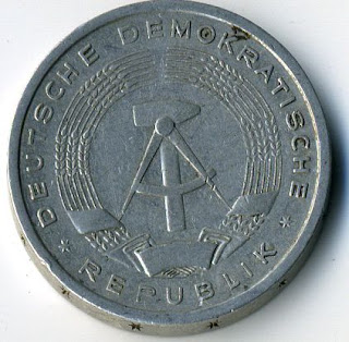 Mark Deutsche Coins Münzen Monedas Немецкие монеты ГДР Марки altertümliche Münze Monedas antigua
