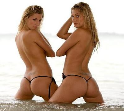 Hugh Hefner S Twins Nude