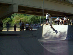 Zack skateboarding