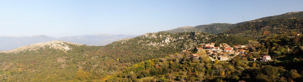 Πανοραμική φωτογραφία του χωριού