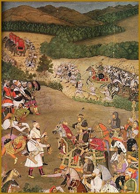 Mughal invasion of Bundelkhand