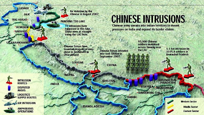 Chinese incursions