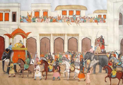 Dara Shikoh paraded