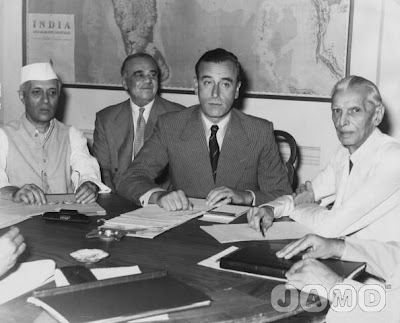 Nehru Ismay Mountbatten Jinnah