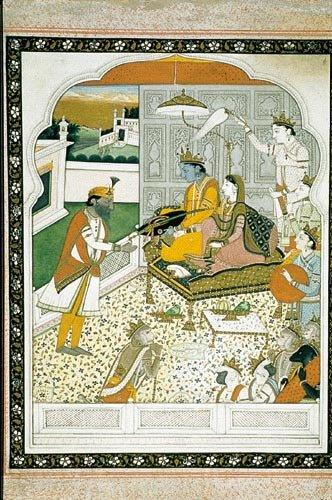 Gulab Singh and Shri Rama