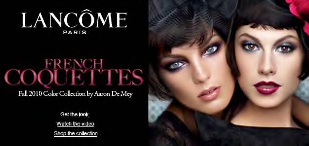 All Hail the Queen: Lancome Fall 2010 Collection