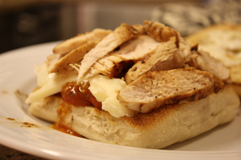 Meet the Sullivans: Chicken-and-Brie Sandwich with Roasted ...