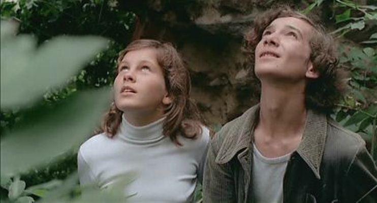 Lara Wendel and Eva Ionesco Maladolescenza