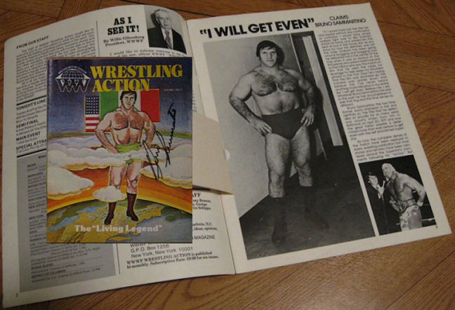 billy graham wrestler. Billy Graham, Bruno Sammartino