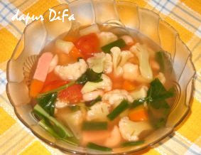 Resep Masakan Makaroni Campur Sup Makaroni Campur Adalah Masakan Sup