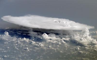 >Cumulonimbus Cloud from Space!