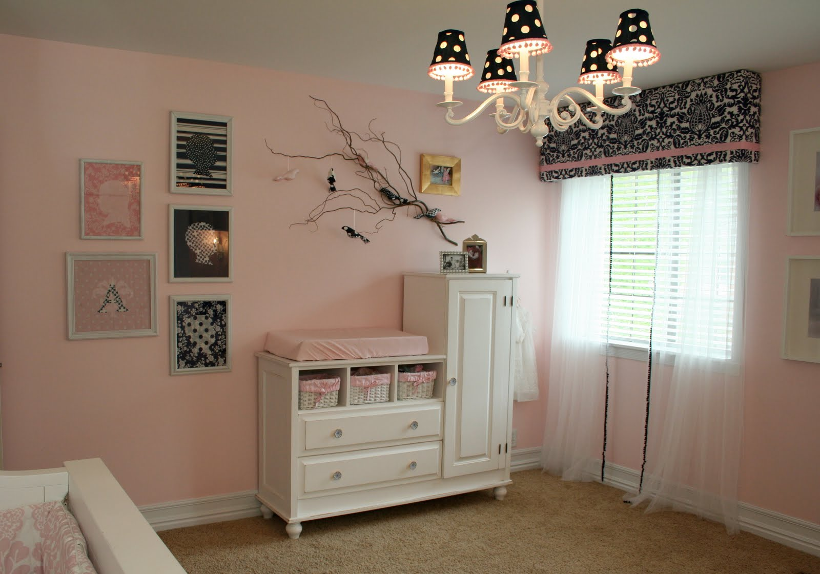 Nurseries in salt lake city - Pink And Navy Nursery