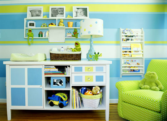 Designing kids rooms using the color wheel analogous - Kids room color combination ...
