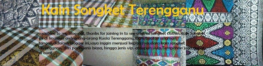 Songket Terengganu Asli