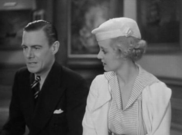 bette davis and colin clive in the girl from 10th avenue