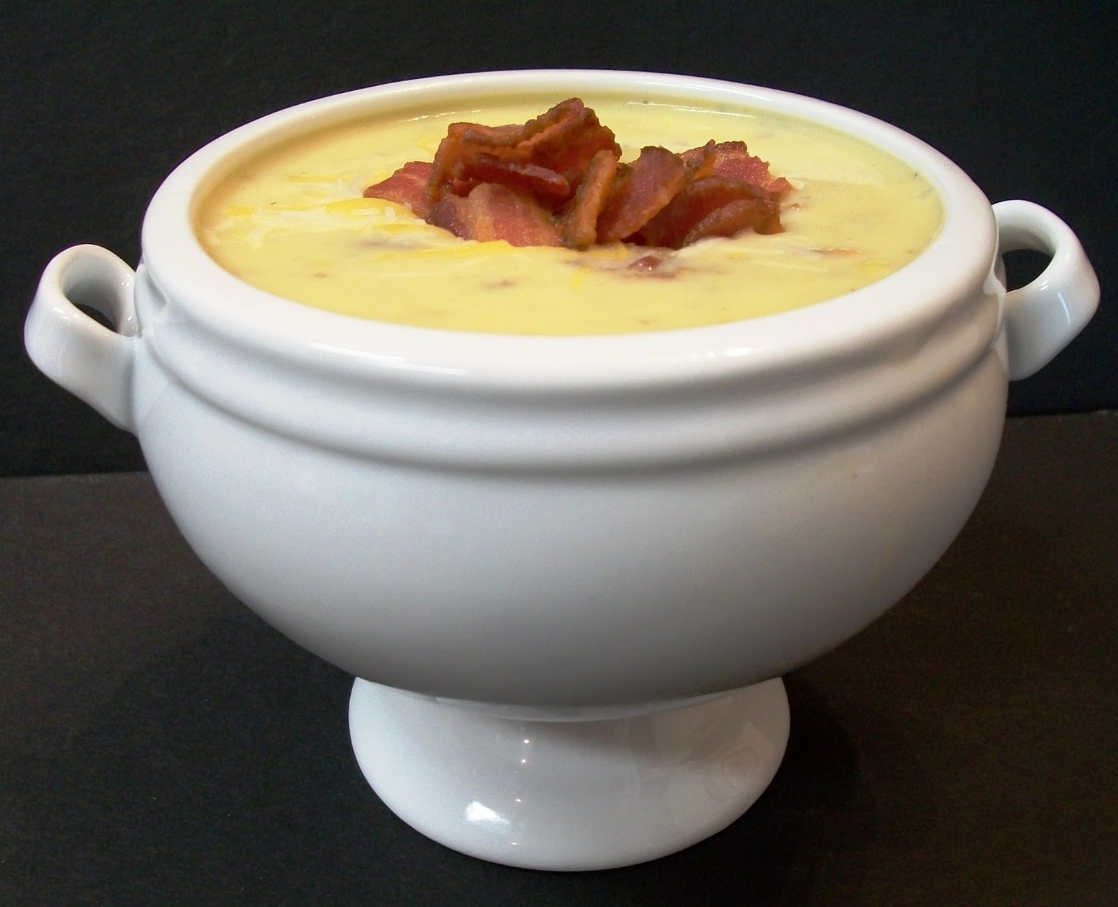 My Kind of Cooking: Recipe: Bacon Cheeseburger Soup