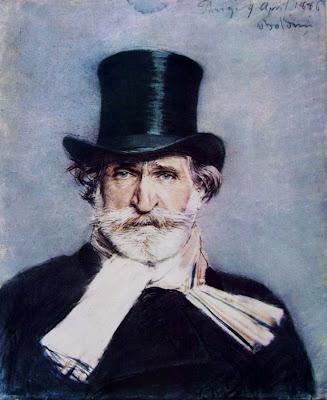 Giuseppe Verdi, retrat de Giovanni Boldini