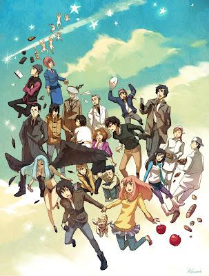 Higashi no Eden Mejor anime temporada 2009 2010