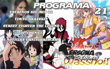 Persona No Sekai Wasshoi! programa 21 Radio Anime Podcast