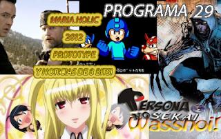 Persona No Sekai Wasshoi! Programa 29 PodCast Anime