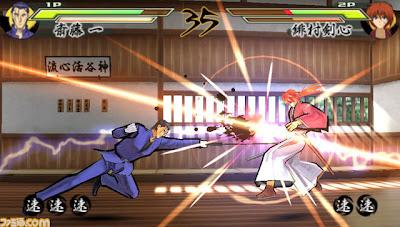 Rurouni Kenshin Saisen psp