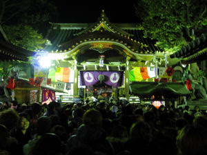 Toyokawa Inari Shrine, New Years Day 2008.
