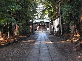 Yoyogi Hachiman Shrine, Yamate-dori, Tokyo.