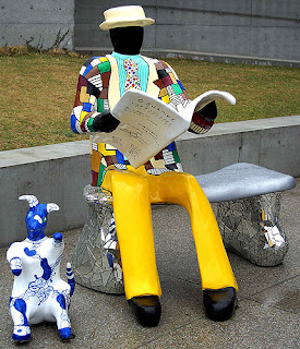 Le Banc by Niki de Sant Phalle, Naoshima Island