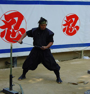 ninja demonstration, Iga-Ueno