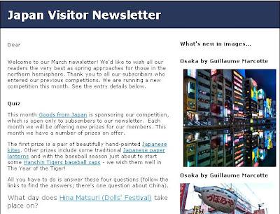 Japan Newsletter Spring 2010