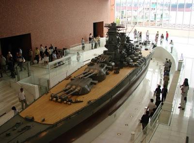 Yamato Museum, Kure, Hiroshima.