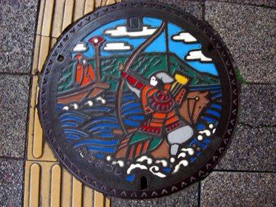 Takamatsu manhole