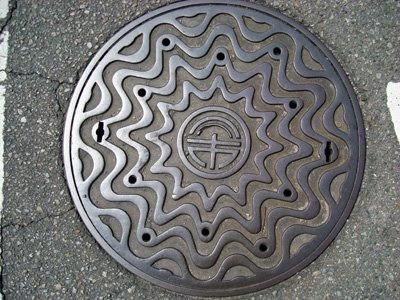 Tokushima manhole