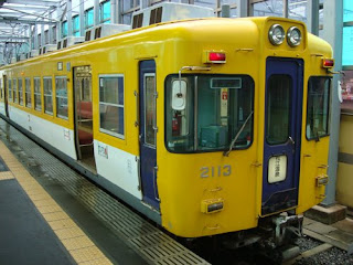 Dentetsu train, Shimane